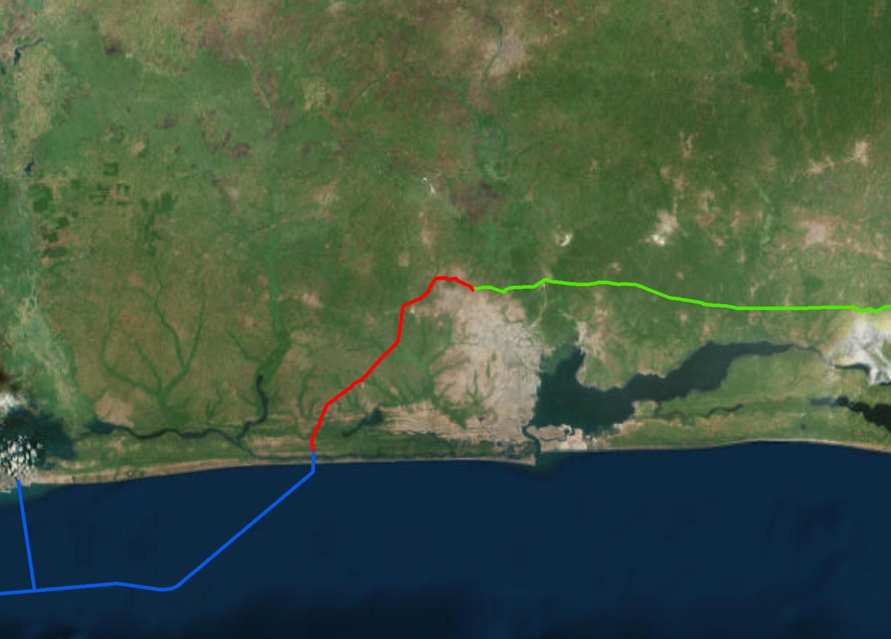 CDR Gasinvest FRSU pipelines